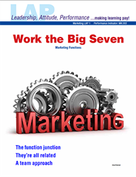 LAP-MK-001, Work the Big Seven (Marketing Functions) (Download)